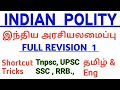 Indian Polity Full Revision|Tnpsc Polity|Tamil|English|Important Articles|Tnpsc Group 2A|Upsc polity