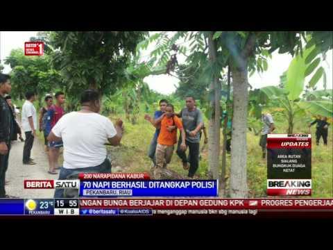 70 dari 200 Napi Kabur dari Rutan Pekanbaru Berhasil Ditangkap