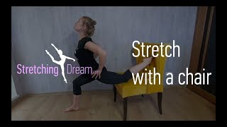 Stretching lesson 8 - Stretch with a chair