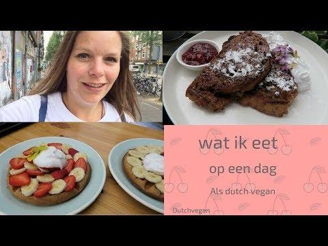 Wat ik eet op een dag als ongezonde vegan in Amsterdam