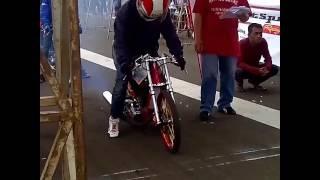Drag bike 201m Rx king 140cc frame std@BISON racing product