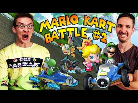 Mario Kart: SPECIAL EDITION BATTLE #2 with J, Ben, DK and Kallie!