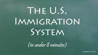 Before immigration reform news updates, know the current system!