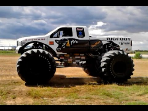 Bigfoot Monster Truck Crushes Jumps Cars Rich Ford Edgewood