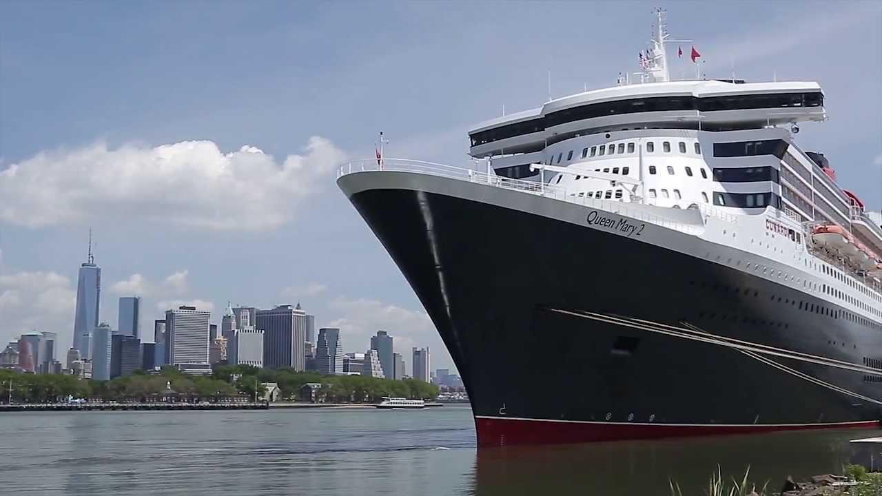 Queen mary 2 39 s 200th transatlantic crossing youtube for Garderobe queen mary 2