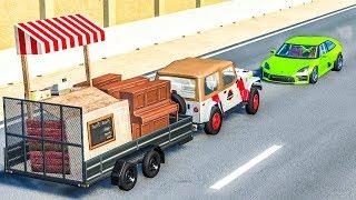 HARD CRASHES #1 - BeamNG Drive