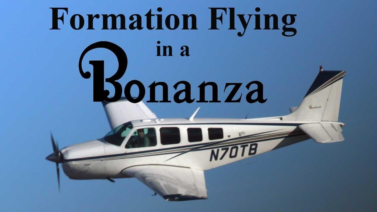 Formation Flying in a Bonanza