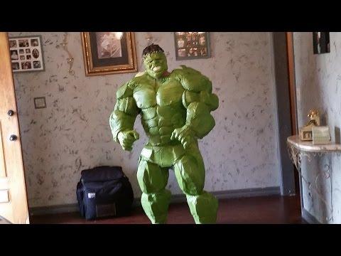 DIY HULK COSTUME: Hulk Costume Tutorial PART 8