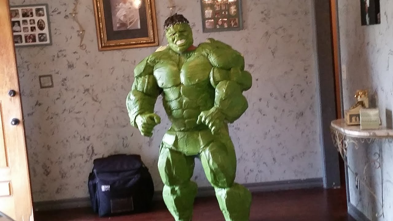 & DIY HULK COSTUME: Hulk Costume Tutorial PART 8 - YouTube