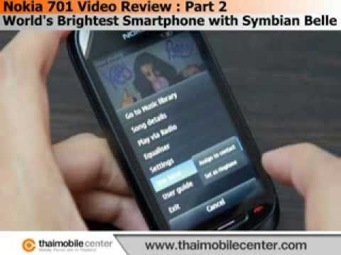 Nokia 701 Video Review (วิดีโอรีวิว) : Part 2