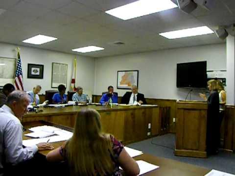 Madison County Commission Madison, Florida Meeting Sept. 21, 2011
