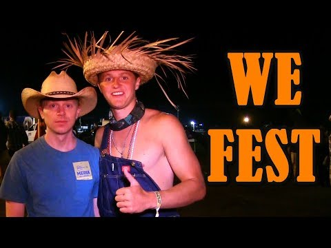 Joe Goes To We Fest