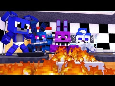 Minecraft FNAF: Happy Thanksgiving Cooking Disaster (Minecraft FNAF Roleplay)