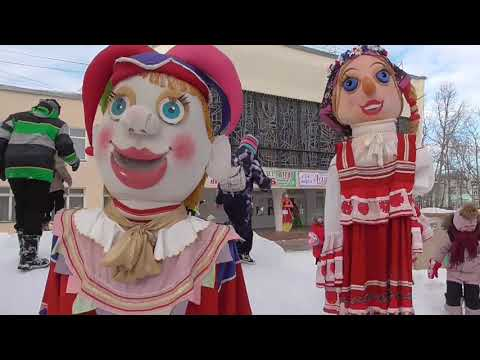 Масленица о  Ягры г  Северодвинск 2019