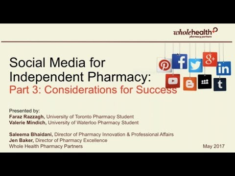 Social Media for Independent Pharmacy - Part 3