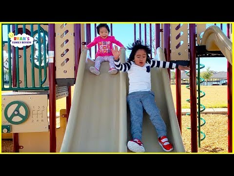 Ryan Emma and Kate at the Playground!!!!