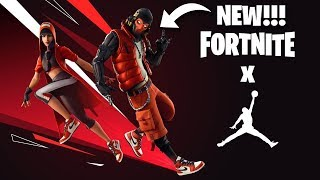 🔴*NEW* Jordan X Fortnite + Free Rewards|| South African Streamer || ROADTO1400🔴