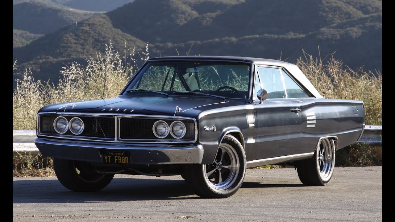 hight resolution of restored daily driven 1966 dodge coronet one take