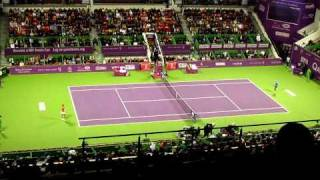 Vera Zvonareva in WTA Doha Open 2011 Final Thumbnail