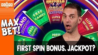 💰💰💰 1st Spin BONUS ➡ How about a Jackpot too?? 💰💰💰 Watch & See! 👁️ ✦ BCSlots