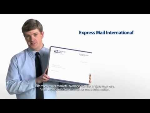 #USPS Express Mail International