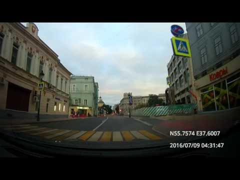 Moscow & Suburbs: Текстильщики - Химки - аэропорт Шереметьево - Зеленоград 09/07/2016 (timelapse 4x)