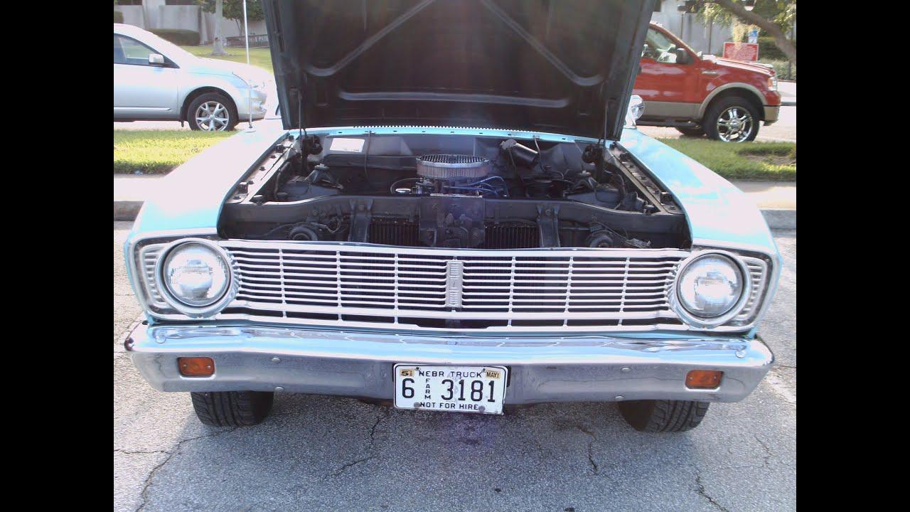 1966 ford ranchero blu san082512