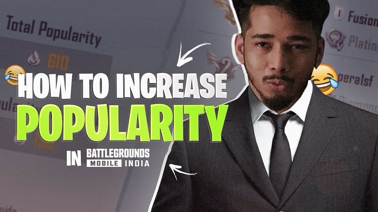 HOW TO INCREASE POPULARITY IN BGMI *NEW Tricks 🤣* | Funny Highlights | sc0ut
