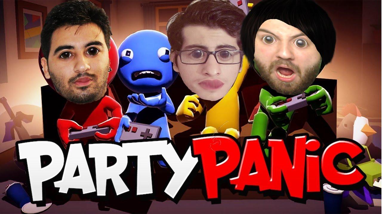 Ezici Oyunlar - Party Panic Hayatta Kalma !!!