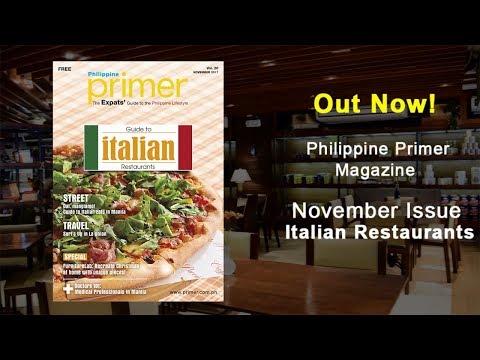 Italian Restaurants in Manila | Philippine Primer