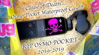 DJI Osmo Pocket Waterproof Case Failure