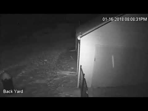 Meteor Michigan Flash All Different Angles. January 16, 2018