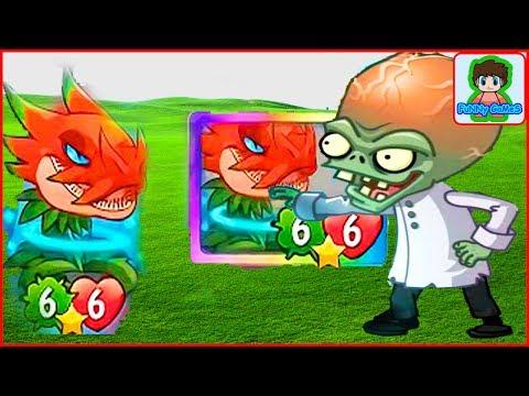 Галактическое Обновление Игра Зомби против Растений  Герои от Фаника Plants vs zombies Heroes 43