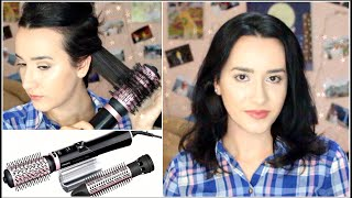 ENG: How I Style My Hair using a Rotating Brush | Philips Dynamic Volume Airstyler