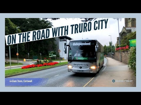 On the road with Truro City FC