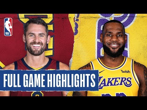 Sports Wrap with Ron Potesta - Cavaliers Fall To Lakers At Staples Center