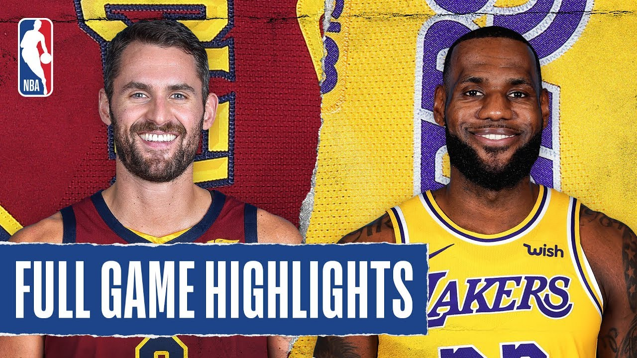 Download CAVALIERS at LAKERS | FULL GAME HIGHLIGHTS | January 13, 2020