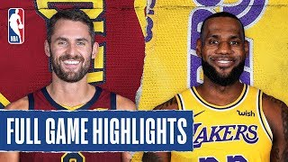 Cavaliers At Lakers | Full Game Highlights | January 13, 2020