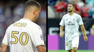 Warum trägt Eden Hazard die Nr.50 bei Real ?!