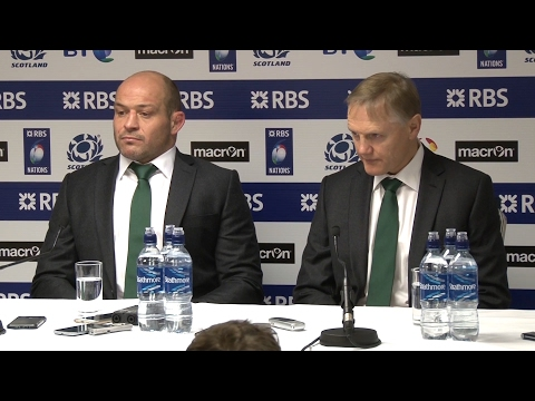 Scotland 27-22 Ireland - Joe Schmidt & Rory Best Full Post Match Press Conference - Six Nations