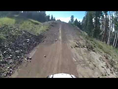 Candyland Downhill Mountain Bike Jump Line Angel Fire, New Mexico