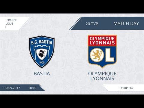 AFL17. France. Ligue 1. Day 20. Bastia - Olympique Lyonnais