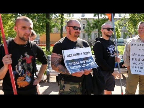Russia: Demonstration against torture by special services