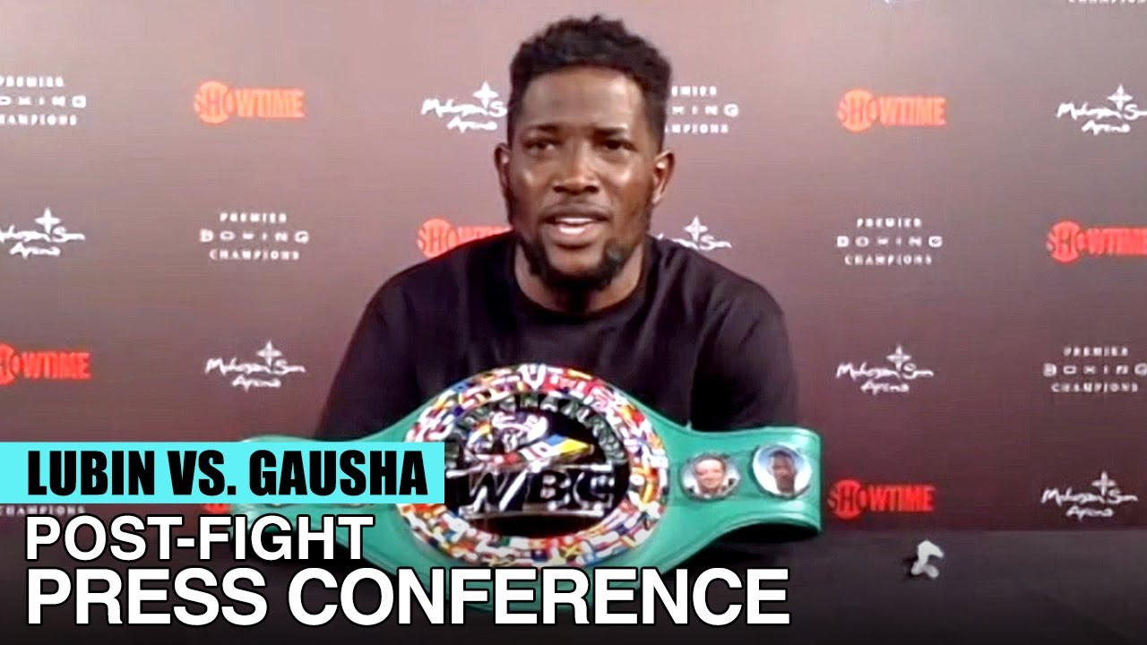 "ERICKSON LUBIN READY FOR REMATCH WITH JERMELL CHARLO: ""I WANT THOSE TITLES!"" - FULL POST-FIGHT VIDEO"