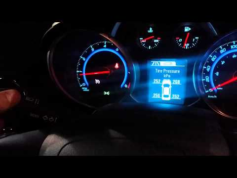 Chevrolet Cruze DIC Operation And Cruise Control