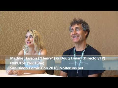 Impulse Q&A with Maddie Hasson & Doug Liman SDCC 2018