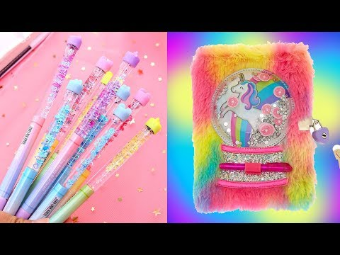 DIY School Supplies! 5 Weird DIY Crafts for Back to School with DIY Lover! #2