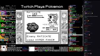 Twitch Plays Pokémon Anniversary Burning Red - Hour 82 to 83