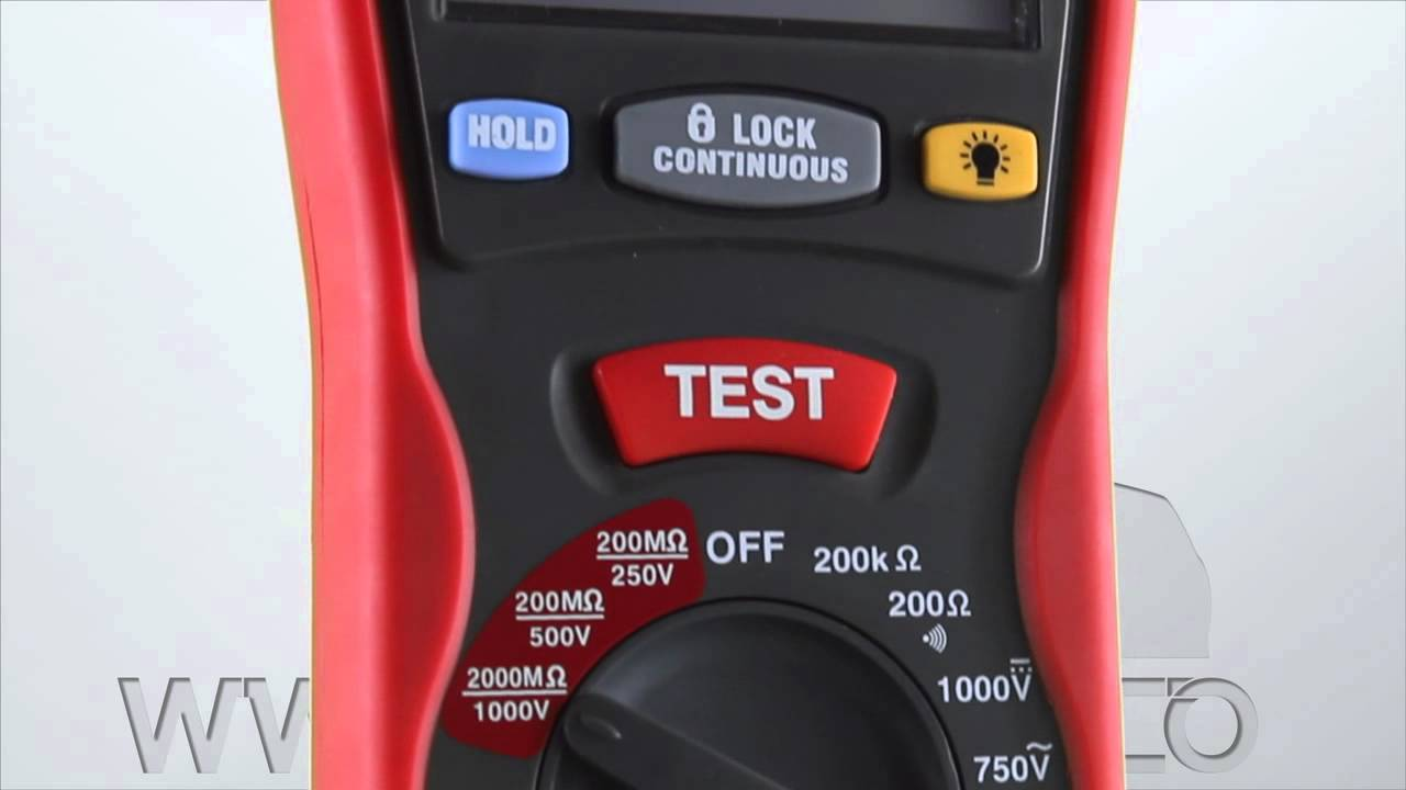 Insulation Tester 550 By Electronic Specialities Youtube Constant 5kv