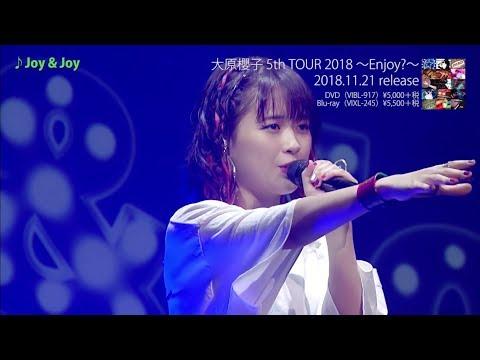 LIVE Blu-ray/DVD「大原櫻子 5th TOUR 2018 ~Enjoy?~」の一部をダイジェストで紹介したトレイラー映像が公開! 2018年11月21日リリース LIVE Blu-ray/DVD「大原 ...